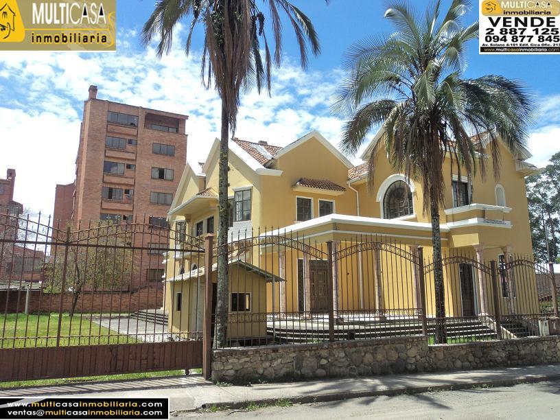 Edificio Patrimonial en Venta a Crédito Sector Ordoñez Lasso Cuenca-Ecuador