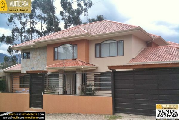 Venta de hermosa casa amoblada a crédito de Lujo (se vende con todo) sector Río Amarillo Cuenca - Ecuador.