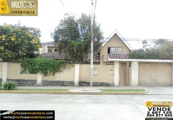 Casa en Venta a Crédito con área verde sector Don Bosco Cuenca - Ecuador