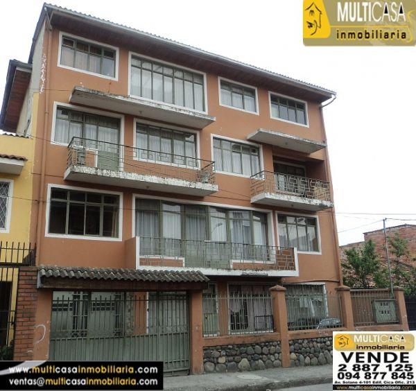 Venta de Casa rentera a crédito con 6 departamentos sector Centro de la Cuidad Cuenca - Ecuador