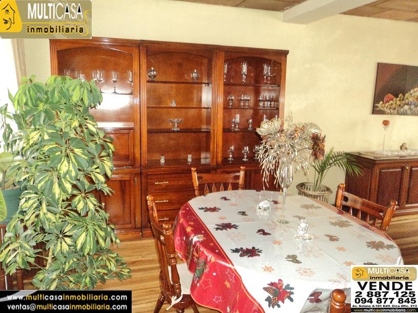 Casa en Venta a crédito de 6 departamentos sector Centro de la Ciudad Cuenca - Ecuador