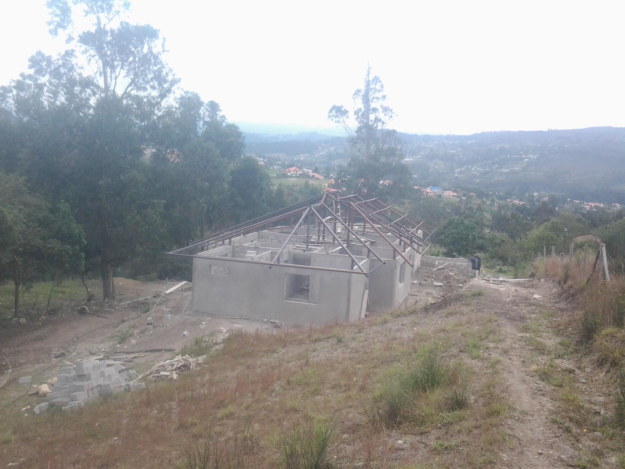 Venta de casa en construcción