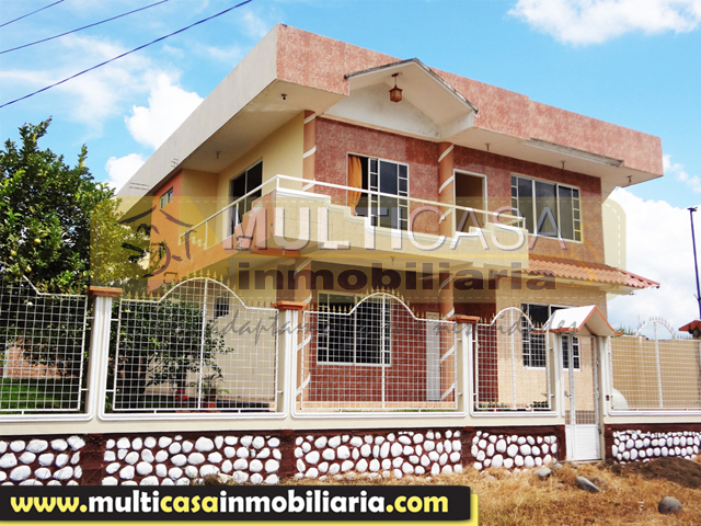 Venta de Hermosa Casa a crédito en Macas - Ecuador