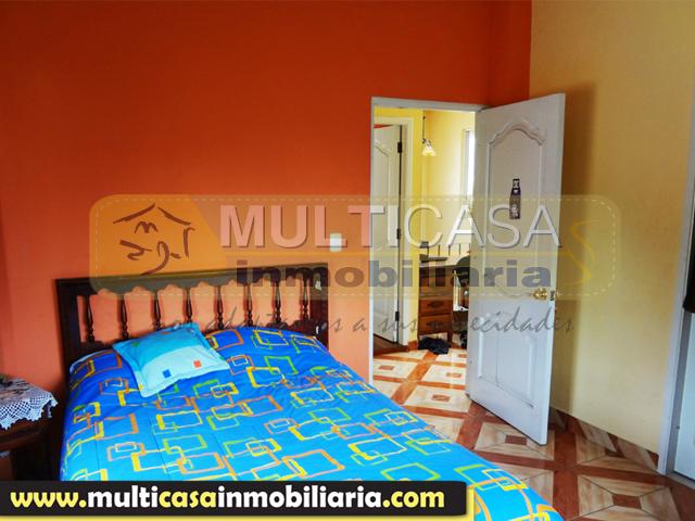 Casa en Venta a crédito con espacio verde Sector Centro de la Ciudad Macas - Ecuador