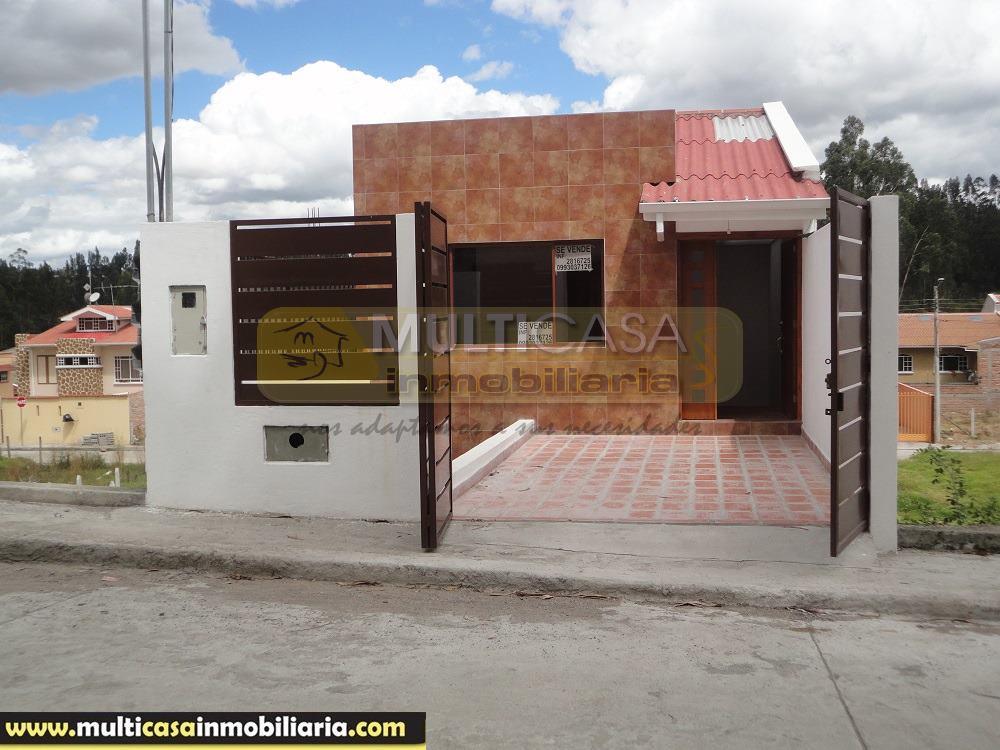 Venta de Hermosa Casa a crédito por Estrenar en el sector Ricaurte Cuenca - Ecuador