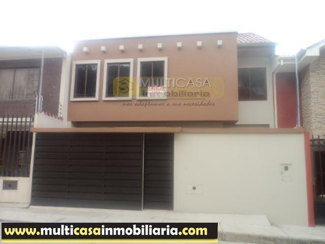 Venta de Hermosa Casa a crédito por el sector Misicata Cuenca - Ecuador