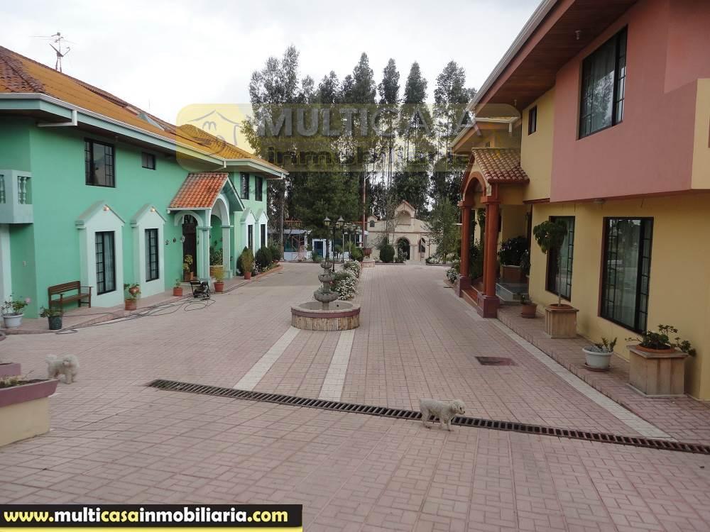 Venta de Hermosa Propiedad Amplia a crédito sector San Pedro Cuenca - Ecuador