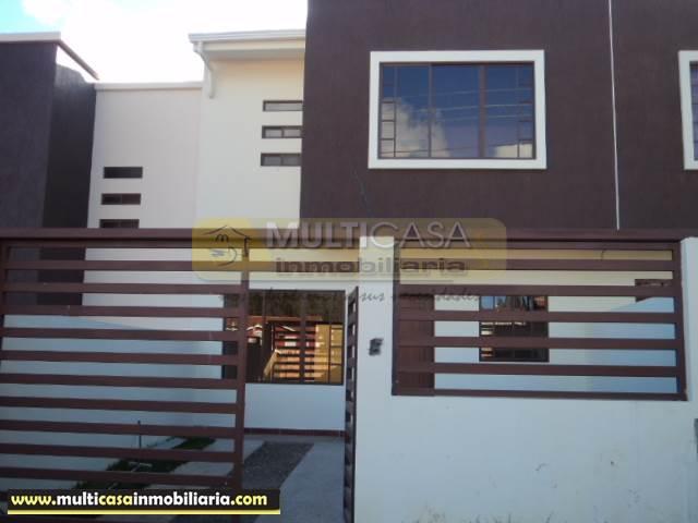 Venta de Casa a crédito sector El Cebollar Cuenca - Ecuador