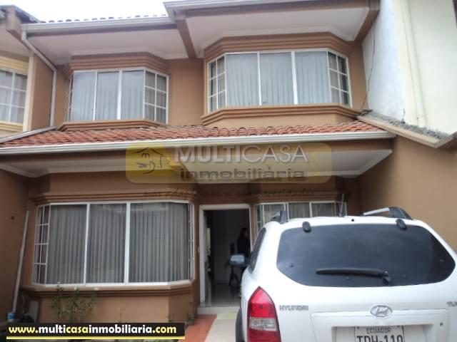 Venta de Hermosa Casa a crédito sector Narancay Cuenca - Ecuador
