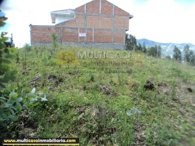 Sitio en Venta a crédito semiplano sector Misicata Cuenca - Ecuador