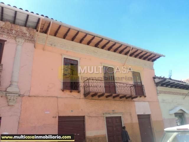 Venta de Hermosa y Amplia Casa a crédito sector Centro Histórico Cuenca-Ecuador <br><br>