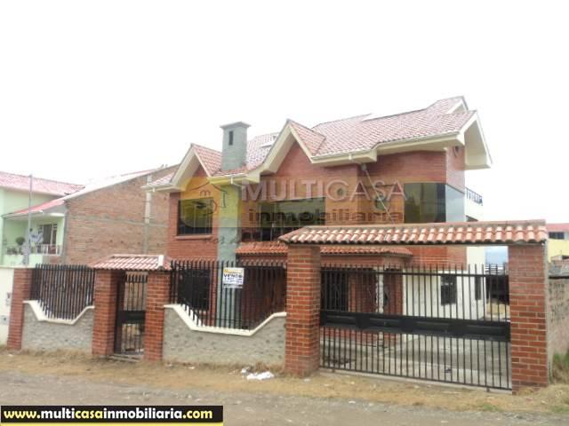 Venta de Hermosa Casa por terminar a crédito sector San José de Balsay Cuenca-Ecuador <br><br>
