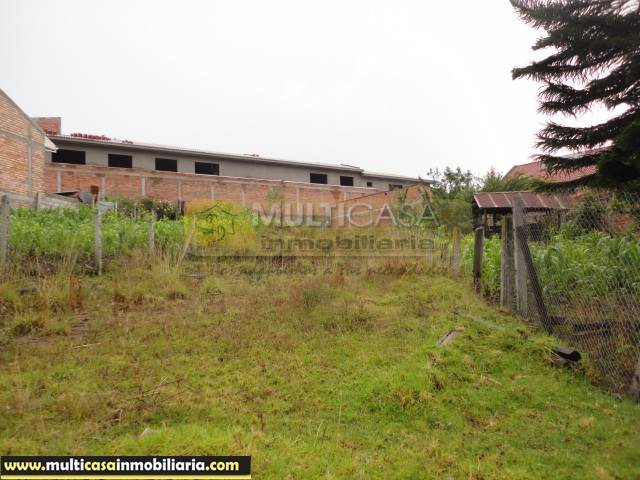 Terreno en Venta a crédito con todas las obras sector Milchichig Cuenca - Ecuador