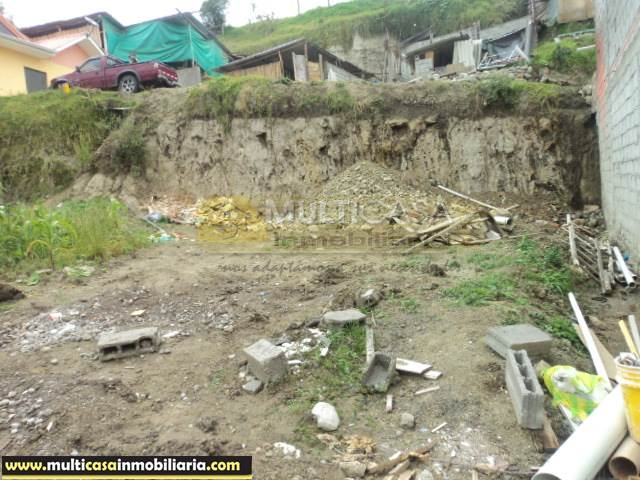 Lote en Venta a crédito sector Turi Cuenca - Ecuador