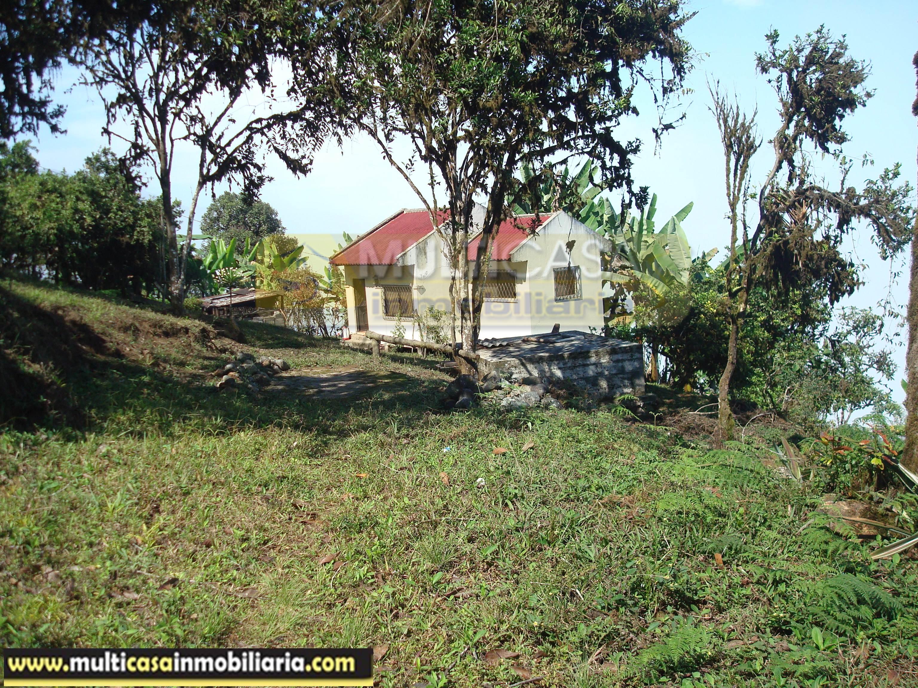 Venta de Hermosa Hacienda a crédito sector Molleturo-Vía Guayaquil Cuenca-Ecuador <br><br>