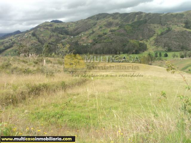 Terreno en Venta a crédito con Servicios básicos sector San Antonio Alto Cumbe - Ecuador