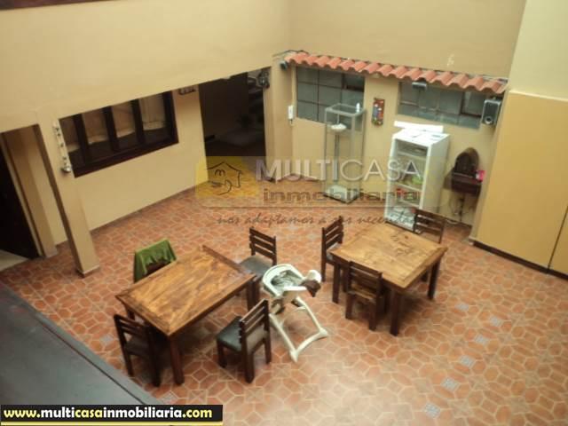 Casa Comercial en Venta a Crédito con 10 Mini Suite sector Banco Central Cuenca-Ecuador