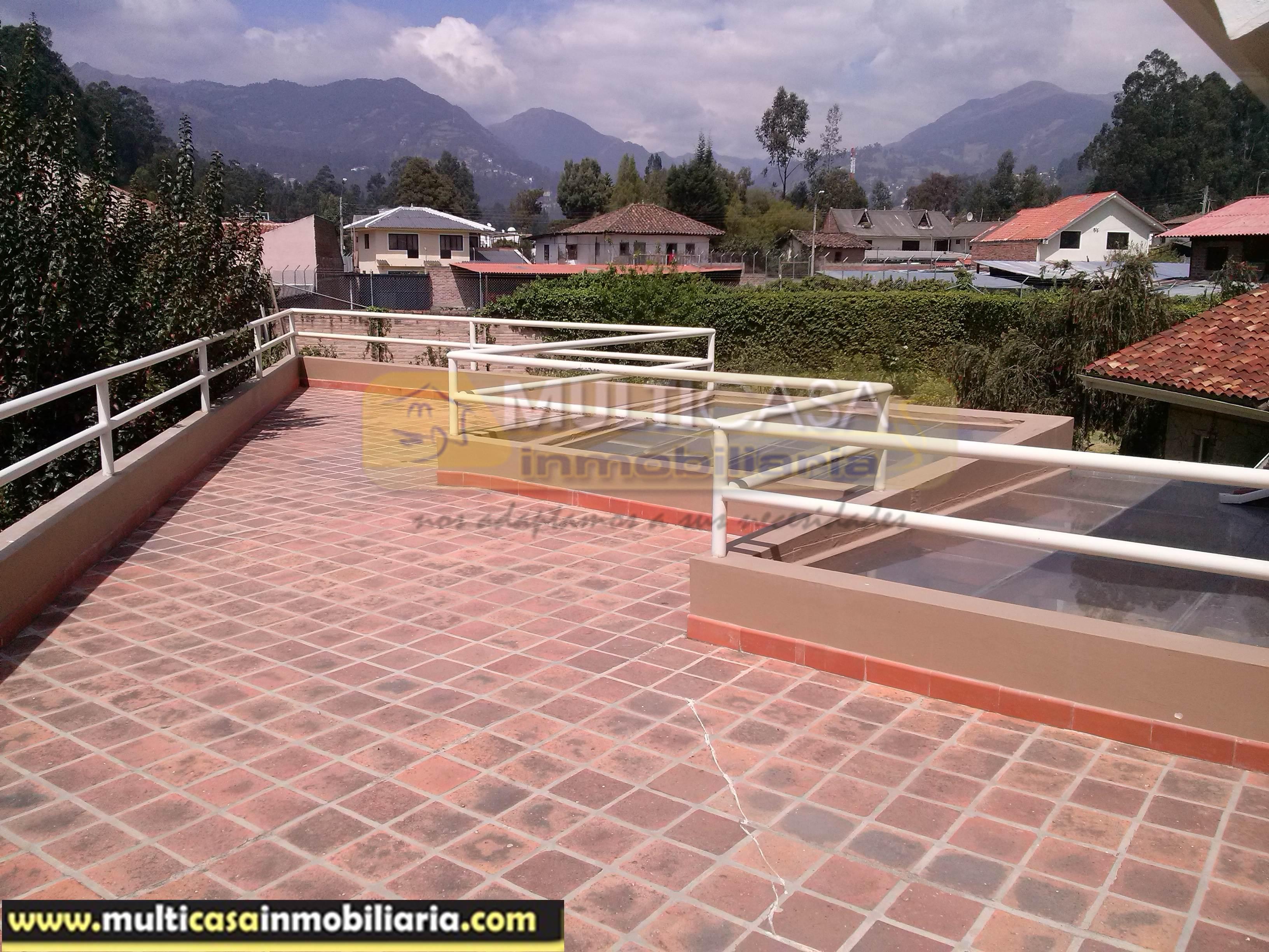 Casa en Venta a Crédito moderna Sector Rio Amarillo Cuenca-Ecuador