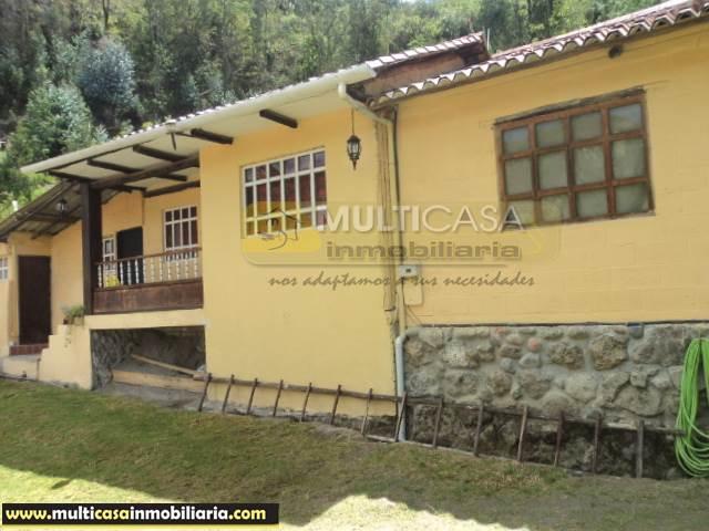 Casa de Campo en Venta a Crédito sector Sigsipamba Alto Vía a Deleg Cuenca-Ecuador