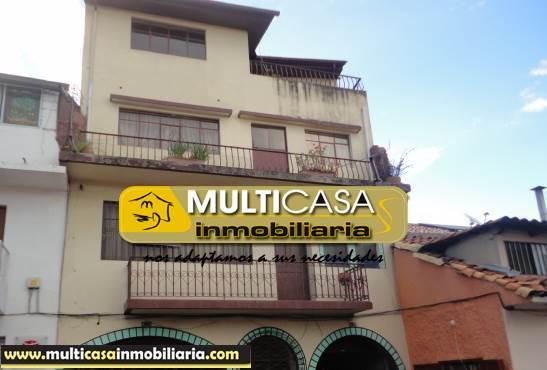 Venta de Hermosa Casa rentera a crédito sector Centro de la Ciudad Cuenca-Ecuador <br><br>