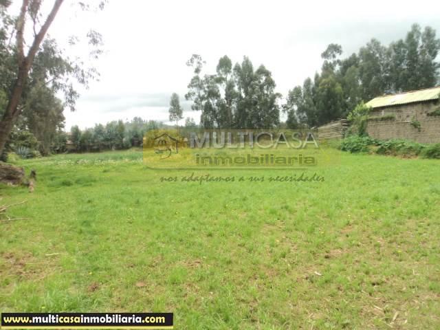 Terreno plano en Venta a Crédito sector San Joaquín Cuenca - Ecuador