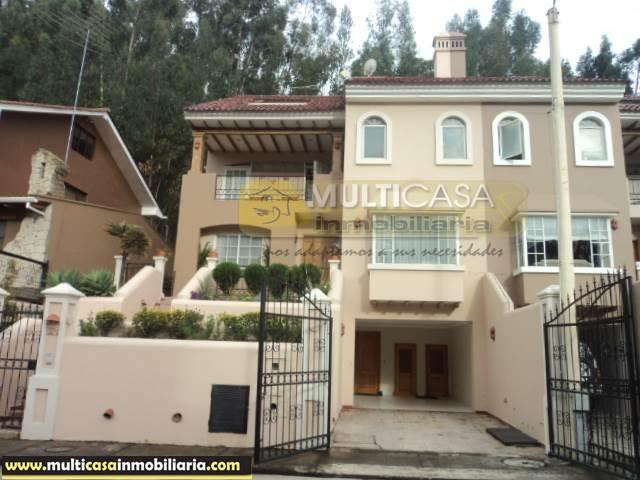Venta de Hermosa Casa en Urbanización a crédito sector Av. 12 de Octubre Cuenca-Ecuador <br><br>