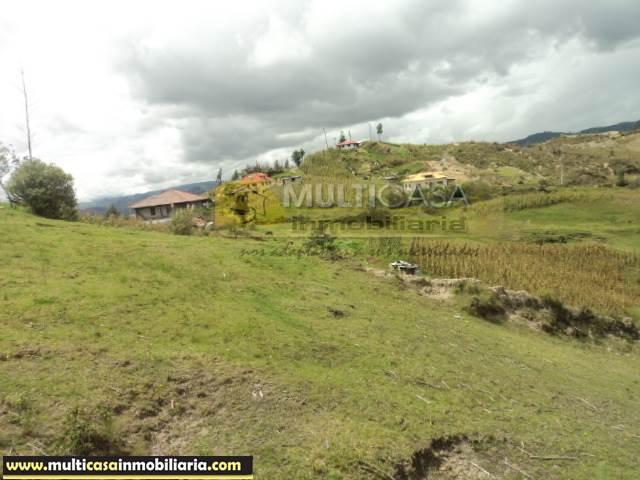 Venta de Hermoso Terreno de 5 Hectáreas a crédito sector Icto Cruz (Turi) Cuenca - Ecuador  <br><br>