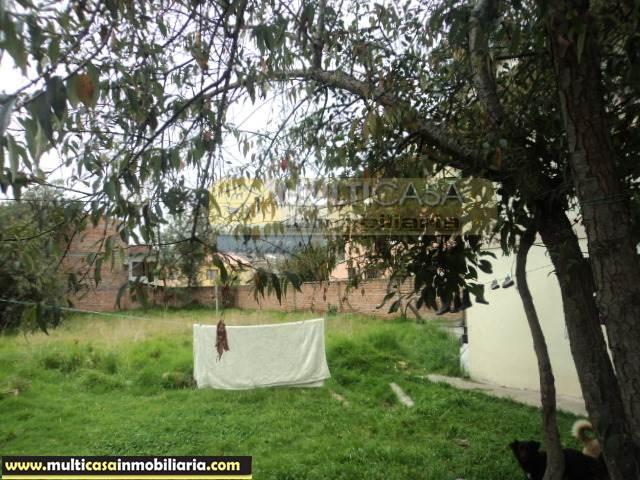 Terreno con Casa en Venta a Crédito con Línea de Fábrica sector Don Bosco Cuenca-Ecuador