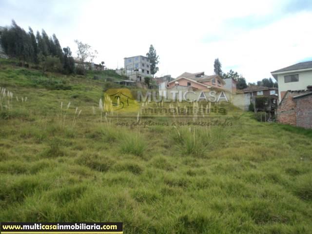 Terreno en Venta a Crédito Sector Lazareto Cuenca - Ecuador