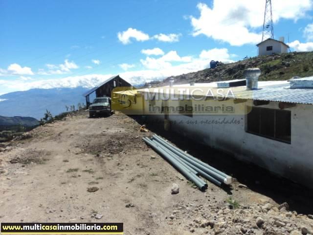 Quinta en Venta a Crédito Sector La Paz Cuenca-Ecuador