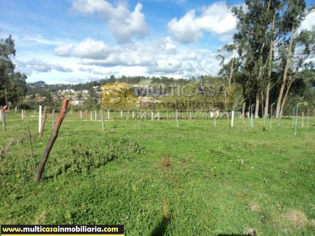 Venta a crédito Hermoso Terreno sector El Valle Cuenca - Ecuador  <br><br>