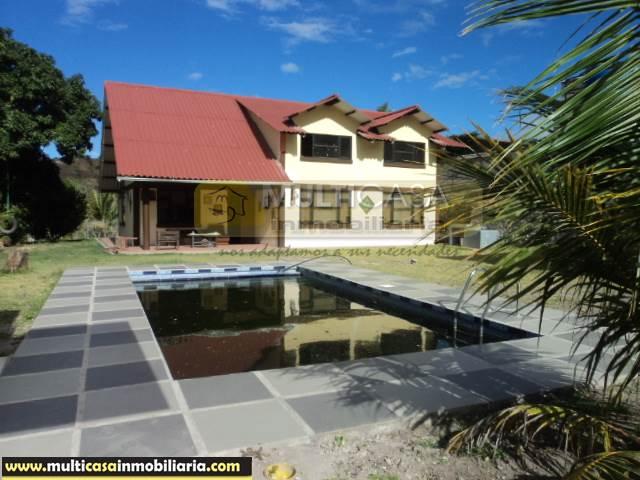 Venta de Hermosa Quinta a crédito sector Yunguilla Cuenca-Ecuador <br><br>