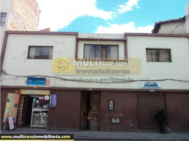 Venta de Hermosa Casa a crédito sector Centro de la Ciudad  Cuenca-Ecuador <br><br>