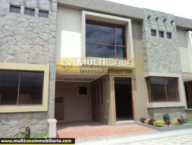 Venta de Hermosa Casa a crédito sector Narancay Bajo Cuenca-Ecuador <br><br>