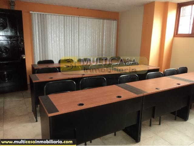 Venta de hermosa Oficina a crédito sector Centro de la Ciudad Cuenca - Ecuador <br><br>