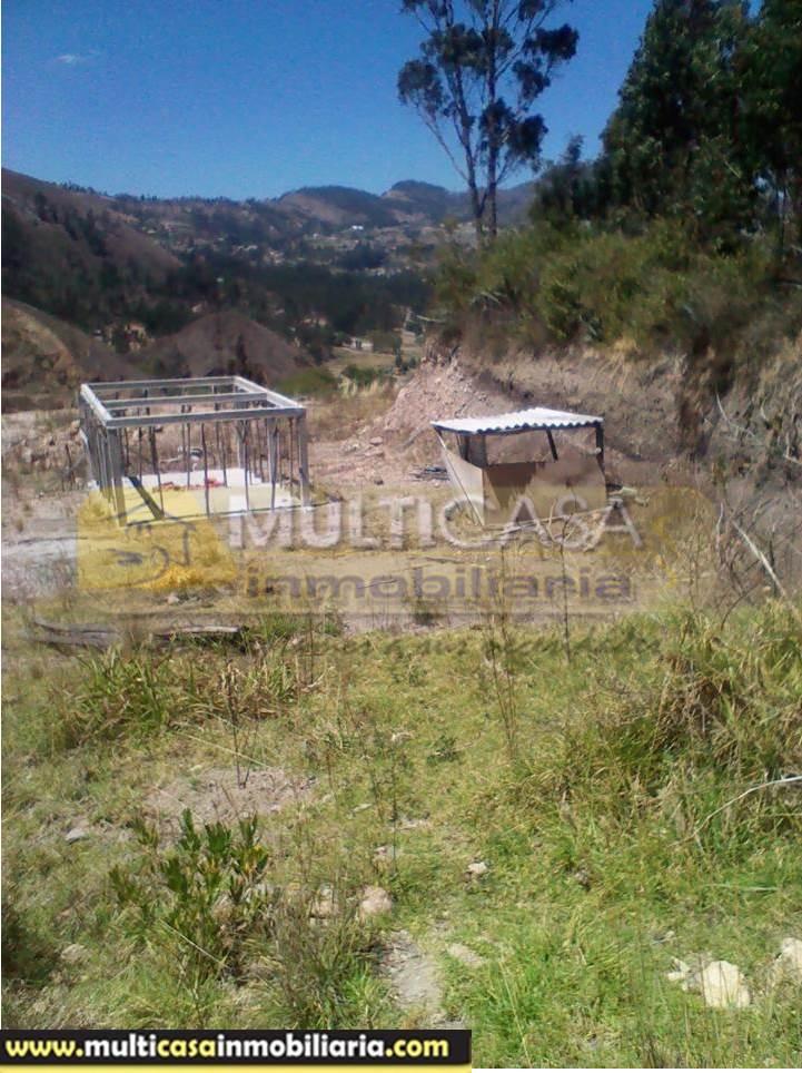 Terreno en Venta a Crédito Sector El Descanso - Guachun Vía Azogues - Ecuador
