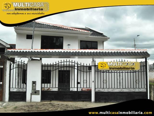 Venta de Hermosa Casa por Terminar a crédito ,con un departamento y garaje dos vehículos sector San Jose de Balzay Cuenca-Ecuador