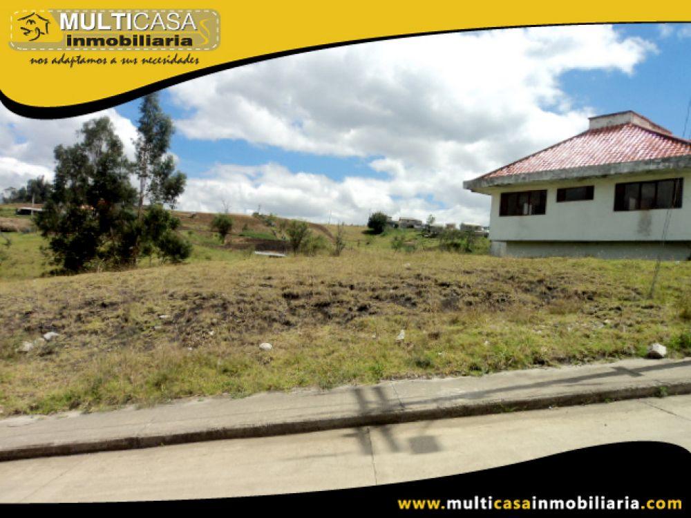 Venta a crédito de Hermoso Terreno en Urbanización sector Baguanchi Cuenca - Ecuador