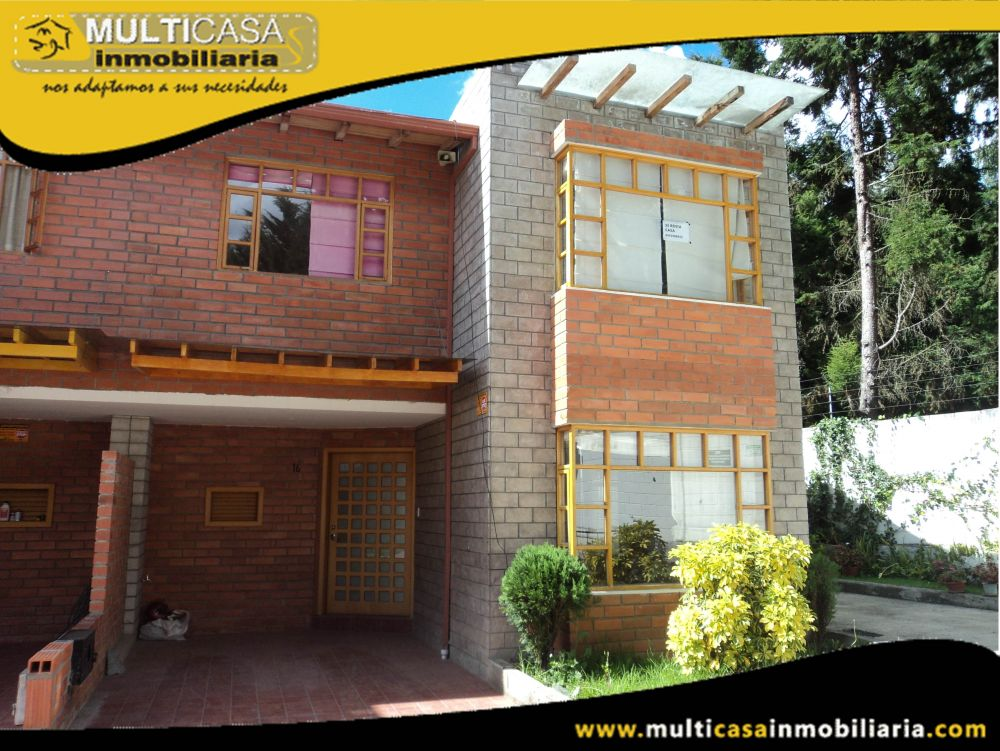 Arriendo Hermosa Casa en Condominio Privado Sector Ricaurte Cuenca-Ecuador