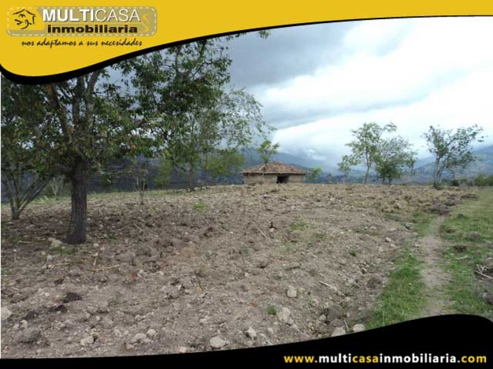 Venta a crédito de Hermoso Terreno Sector Gualaceo–Ecuador