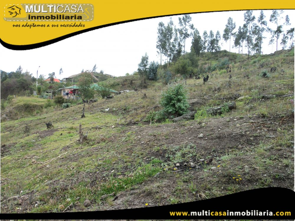 Sitio en Venta a Crédito  Sector Bellavista-Turi Cuenca-Ecuador