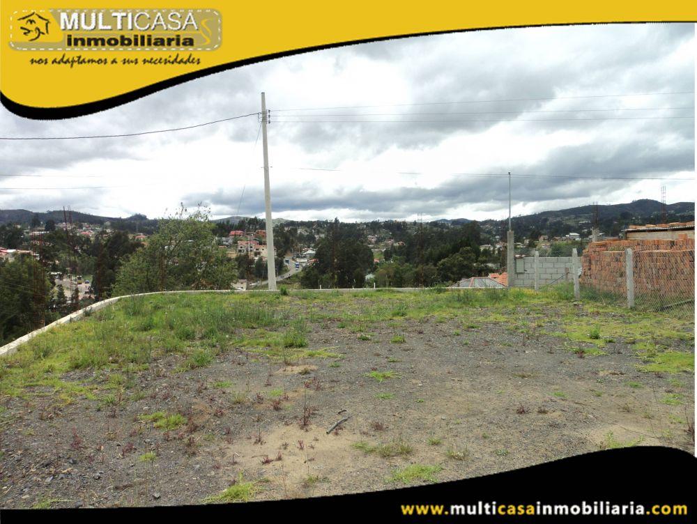Venta de Hermoso Terreno  a crédito con todas las obras Sector Vía Monay– Baguanchi Cuenca-Ecuador