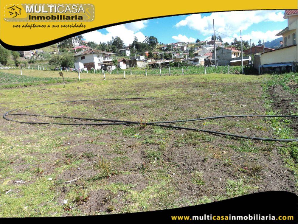 Venta de Hermoso Terreno  a crédito  Sector El Valle Cuenca-Ecuador <br><br>