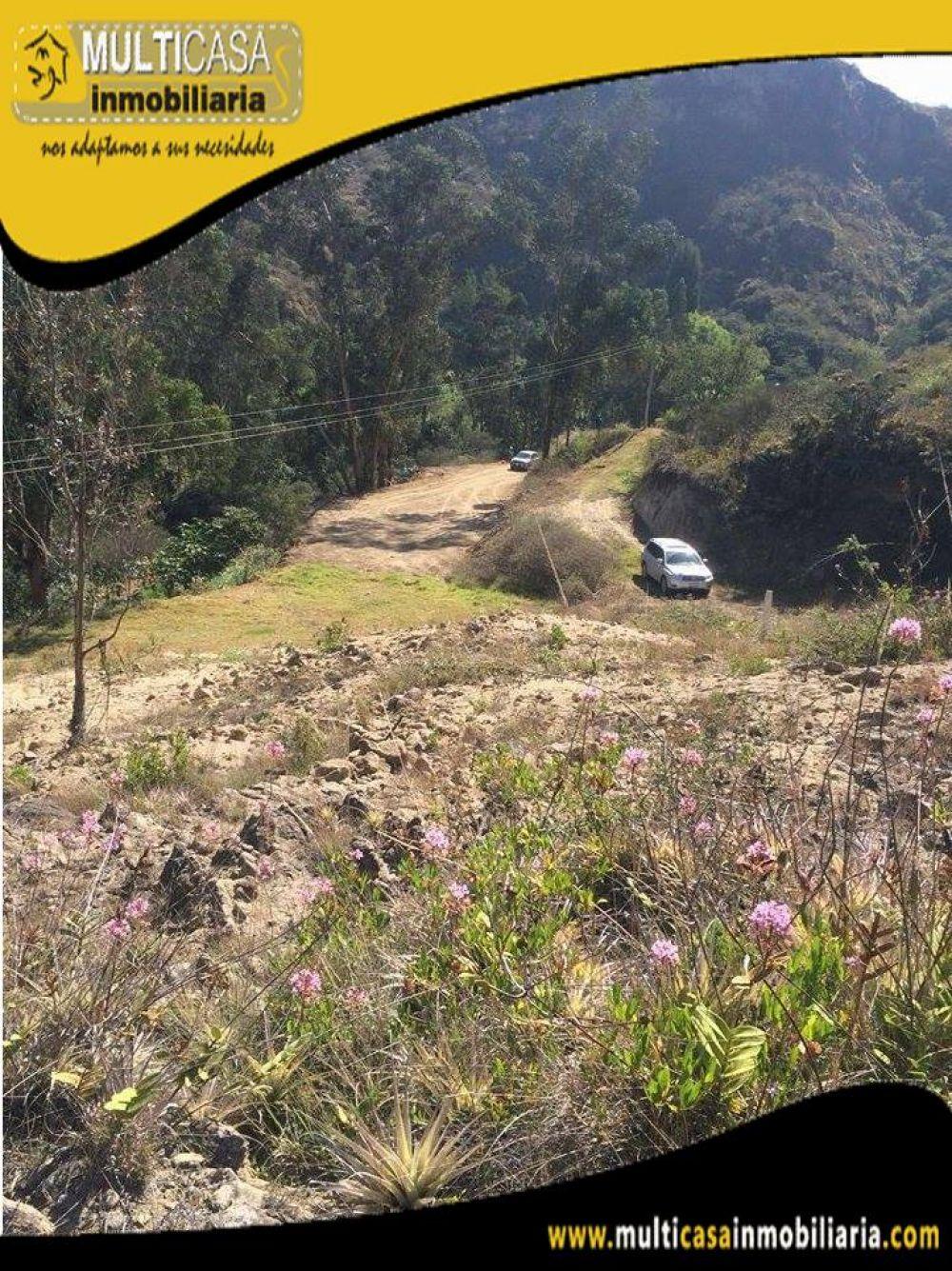 Sitio en Venta con Línea de fábrica a Crédito Sector Challuabamba Cuenca-Ecuador