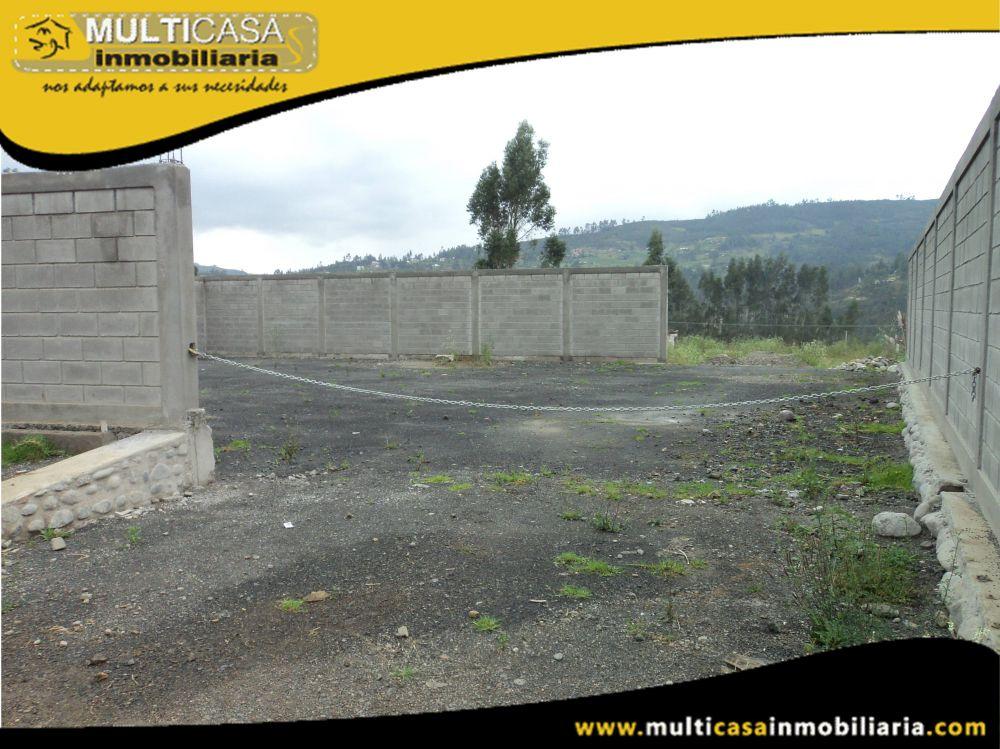 Venta de Hermosa Terreno a crédito sector El Valle Cuenca-Ecuador