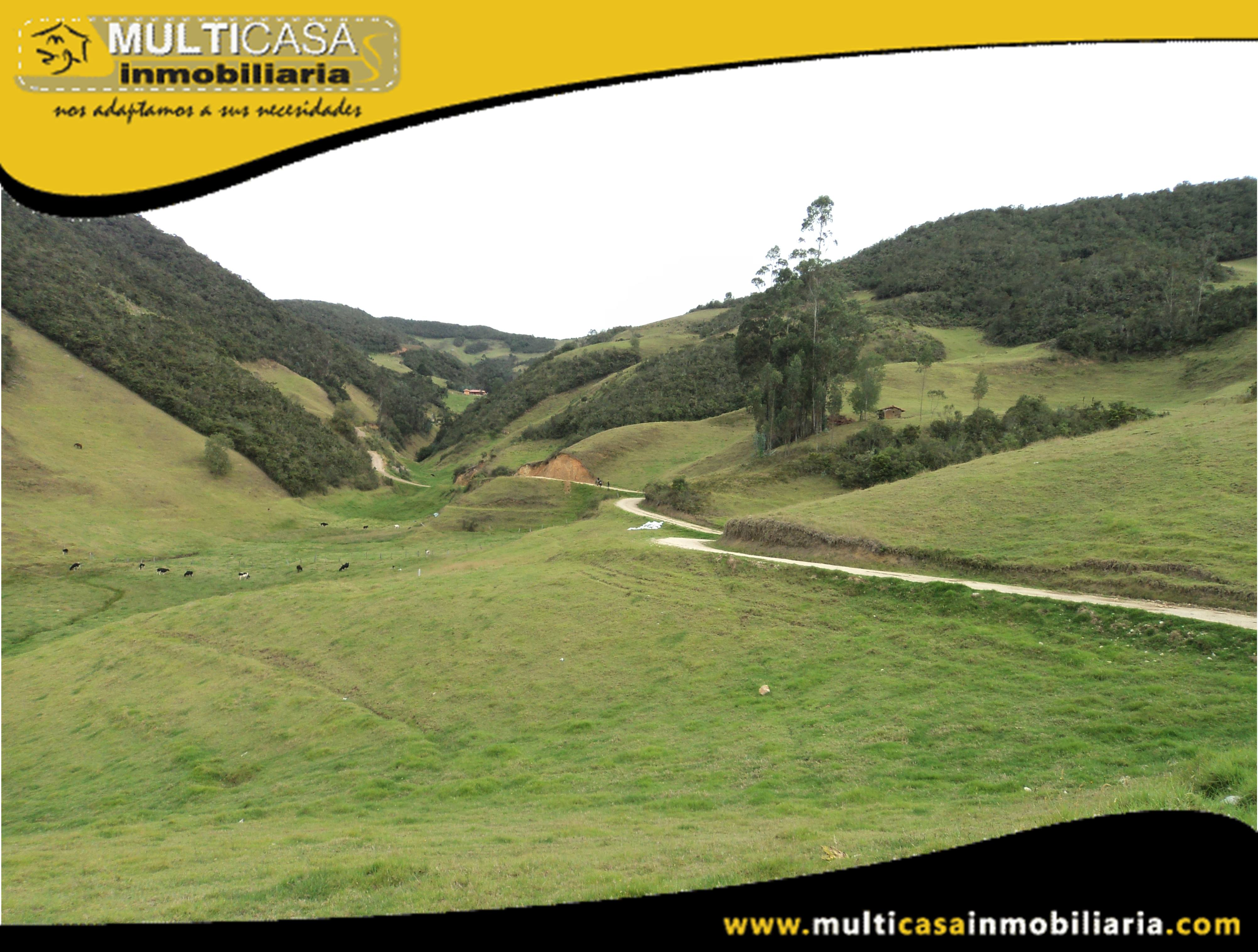 Venta de Hermoso Terreno a crédito Sector Tarqui Cuenca-Ecuador