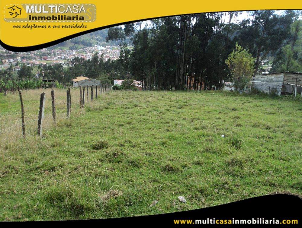 Venta de Hermoso Terreno con Licencia Urbanística a Crédito Sector Misicata Cuenca-Ecuador <br><br>