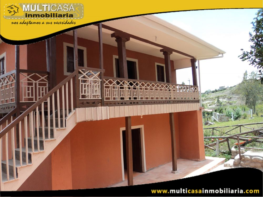 Quinta en Venta a Crédito Sector Sigsipamba Cuenca - Ecuador