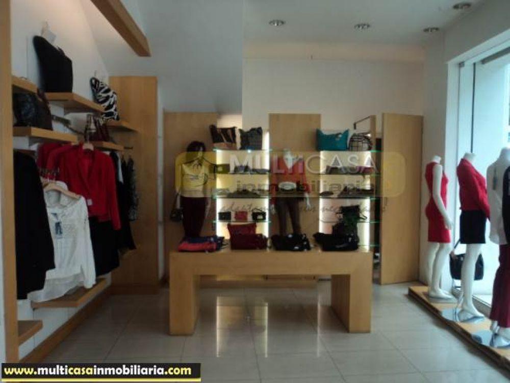 Arriendo local comercial excelente ubicación Sector Centro de la Ciudad Cuenca-Ecuador