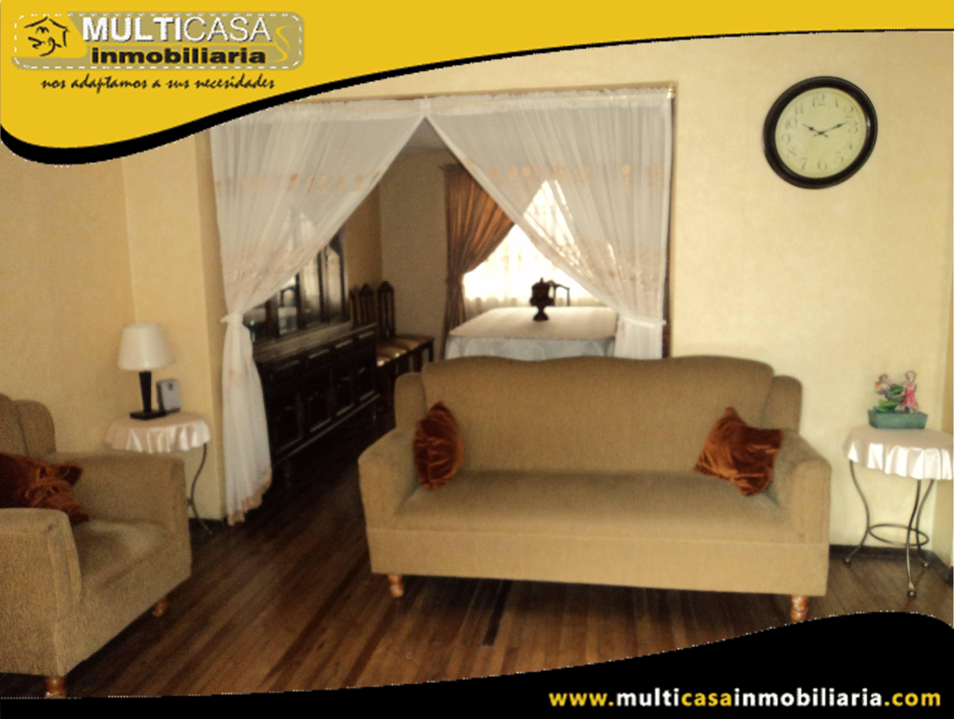 Venta de Hermosa Casa con Minidepartamento  y garaje para dos vehículos  Sector Héroes de Verdeloma Cuenca-Ecuador <br>